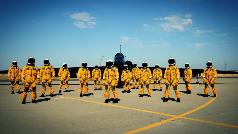 A Photo of the Most Elite Pilots on Earth Looking Incredibly Badass