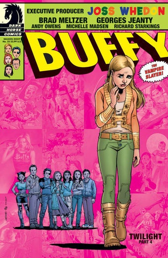 What Inspired Brad Meltzer's Superpowered Sex In Buffy Season 8?