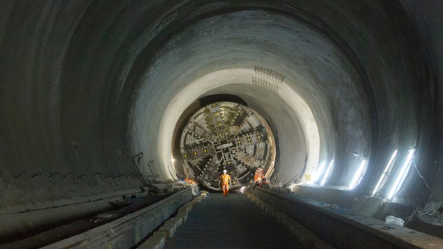 This Is What It Looks Like To Build A New Subway