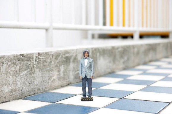 Tokyo's 3D printing photobooth lets you turn yourself into an action figure