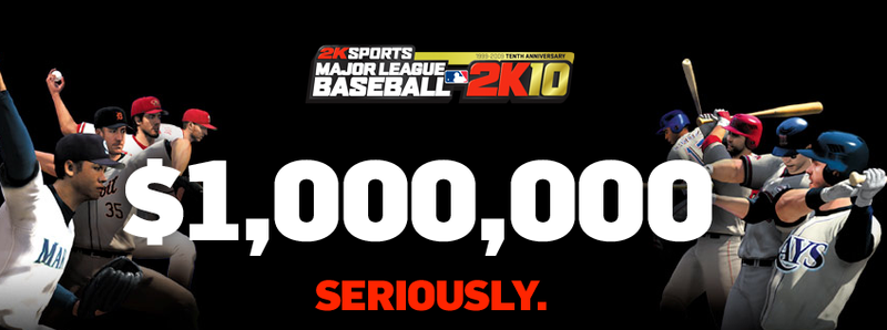 Pitch a Perfect Game on Your Console and Get $1,000,000