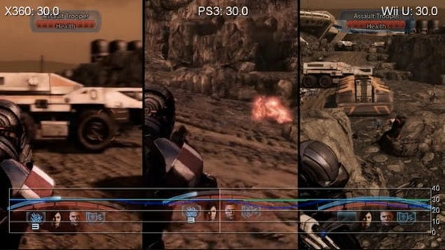 Mass Effect 3 On Xbox 360 Vs. PS3 Vs. Wii U