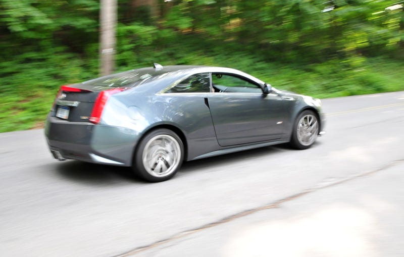 Cadillac CTS-V Coupe: First Drive