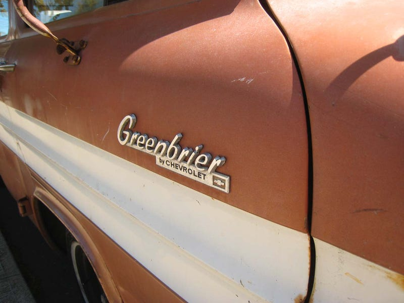 1962 Chevrolet Corvair Greenbrier