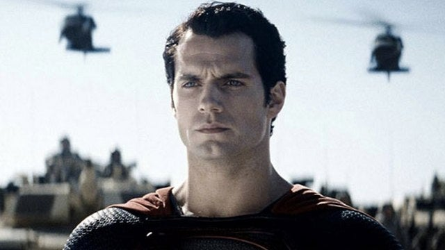 Superman looks seriously bummed in the latest picture from Man of Steel