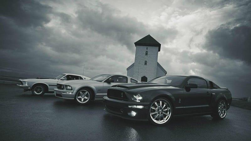 I heard Oppo likes Mustangs...
