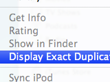 How to Narrow Down Exact Duplicates in iTunes