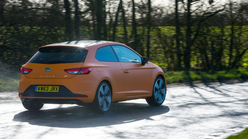 The SEAT Leon Cupra 280 Is Your New Nurburgring Lap Record Holder