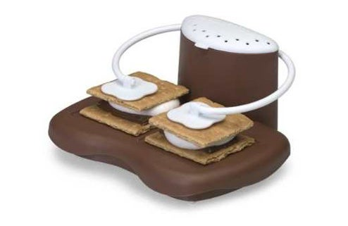 "Weird Microwave ""Robot"" Makes Perfect S'mores"