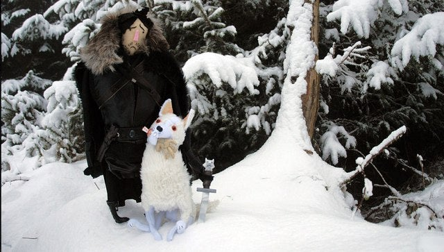 Plush Jon Snow is the best Game of Thrones toy we've ever seen