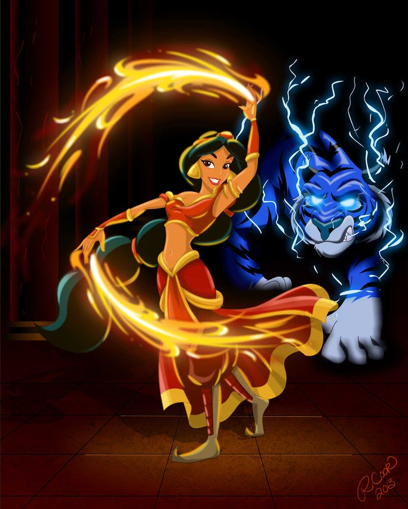 Disney Princesses as Avatar characters!