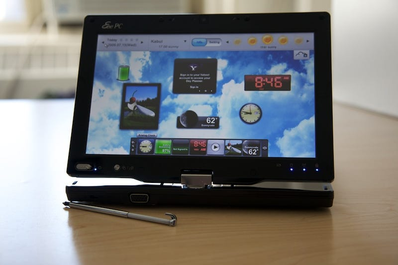 Asus Eee T91 Touch Tablet Review: Keep Dreaming