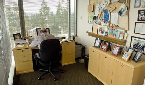 Nine Workspaces Where Famous Folks Get Stuff Done