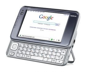 Nokia N810 Linux Tablet On Sale