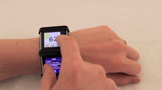 Nokia's 'Facet' Smartwatch Concept Is an Insane Multi-Display Bracelet