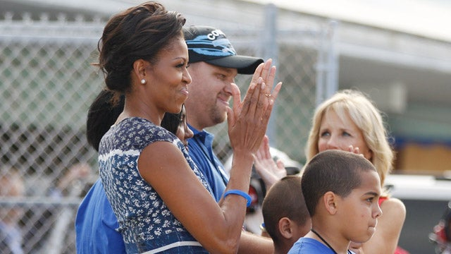 Michelle Obama And Jill Biden Get Booed By NASCAR Fans