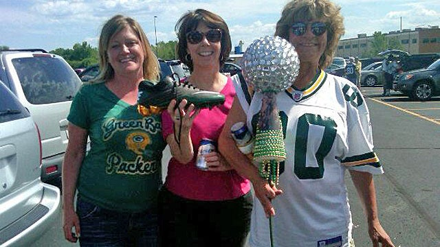This Is Probably The Woman Who Ripped Donald Driver's Shoe From That Little Kid [UPDATE]