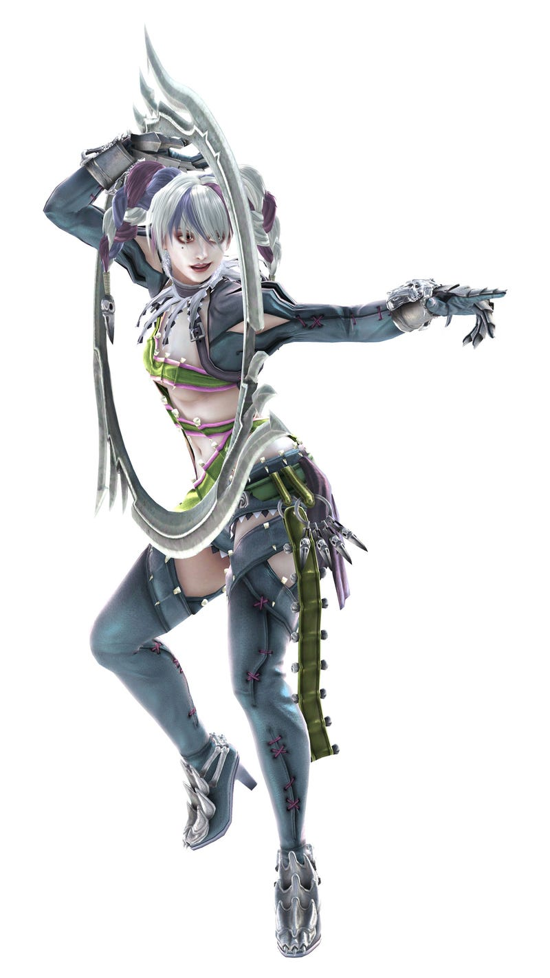 Get A Good Look At Soulcalibur V's New Fighters: Maxi, Tira, Voldo & Hilde