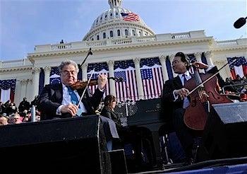 Obama's Big Fake Inauguration