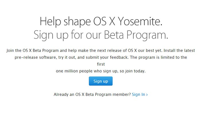 How To Try Out Mac OS X Yosemite Before Everyone Else