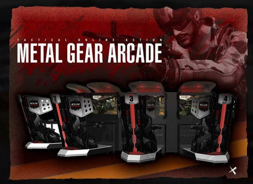 Where Is Metal Gear Arcade?