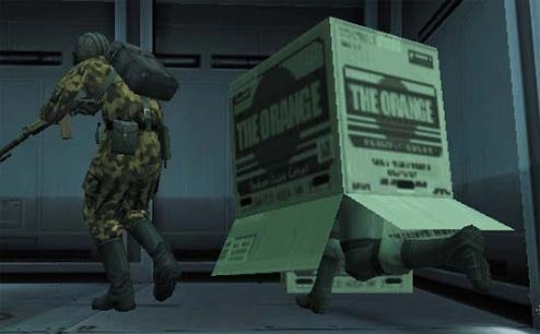 Turkish Solid Snake Equips Cardboard Box, Sneaks Out Of Prison