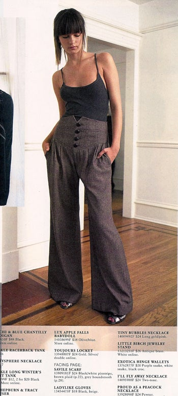 Urban Outfitters: Sequins, High-Waisted Trousers & The Return Of The Miserable Model