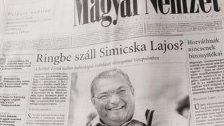 Történelmi címlappal jelent meg a Magyar Nemzet
