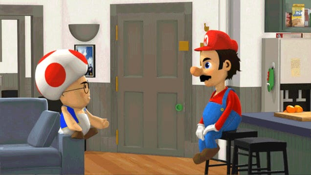 When Mario Meets Seinfeld