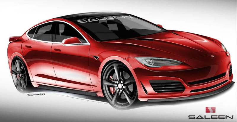 The Saleen Tesla Model S Is Such A Crazy Idea It Just Might Work