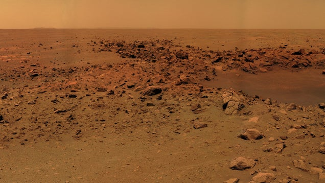 Drinkable Water Once Flowed on Mars