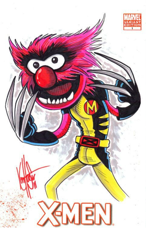 Mutant X-Muppets defend a world that thinks they're weirdos