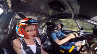 Watch a 13-year-old rallying prodigy crush a special stage