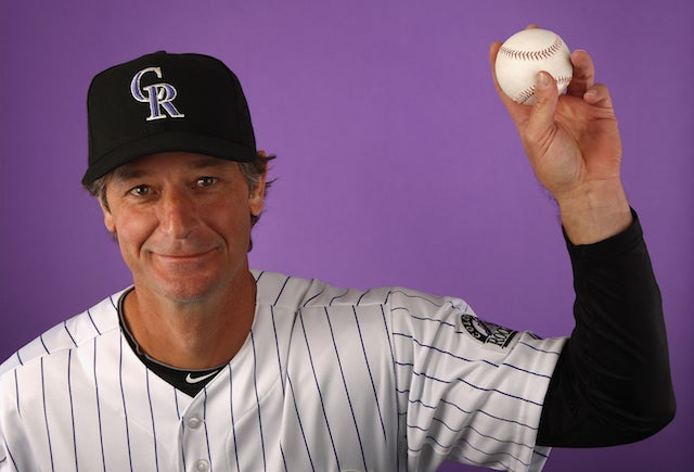 Jamie Moyer Made The Colorado Rockies Rotation, Is Old