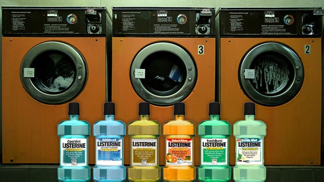 Add Mouthwash to a Load of Laundry to Help Kill Germs