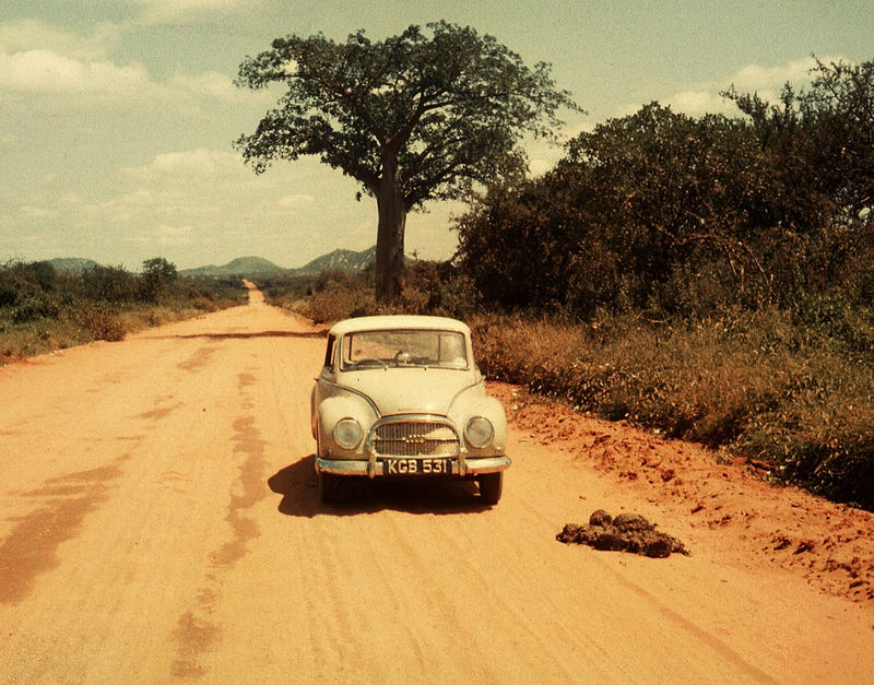 This Guy Raced A Tiny Two-Stroke DKW Surrounded By Lions In Africa