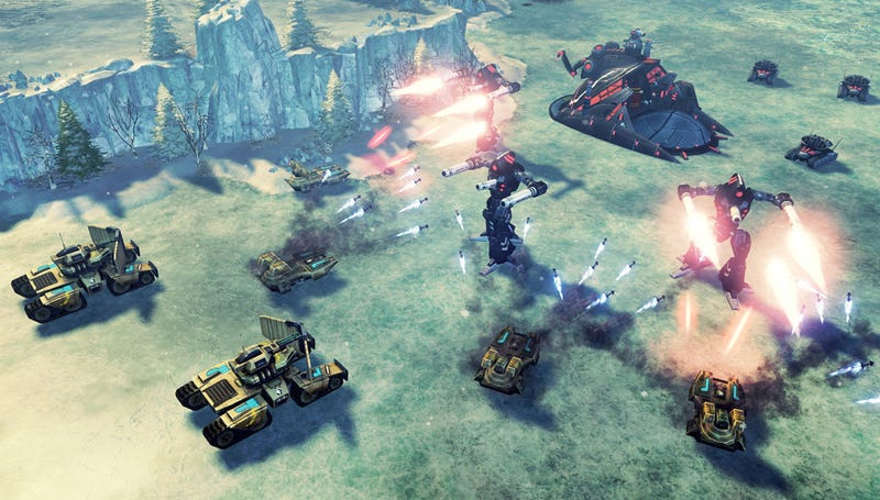Six Snowy Scenes From Command & Conquer 4
