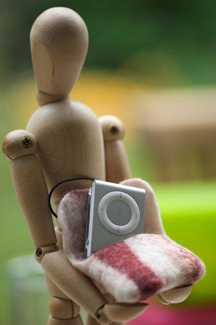 iPod Shuffle Scrumptified Through Bacon Bit Case