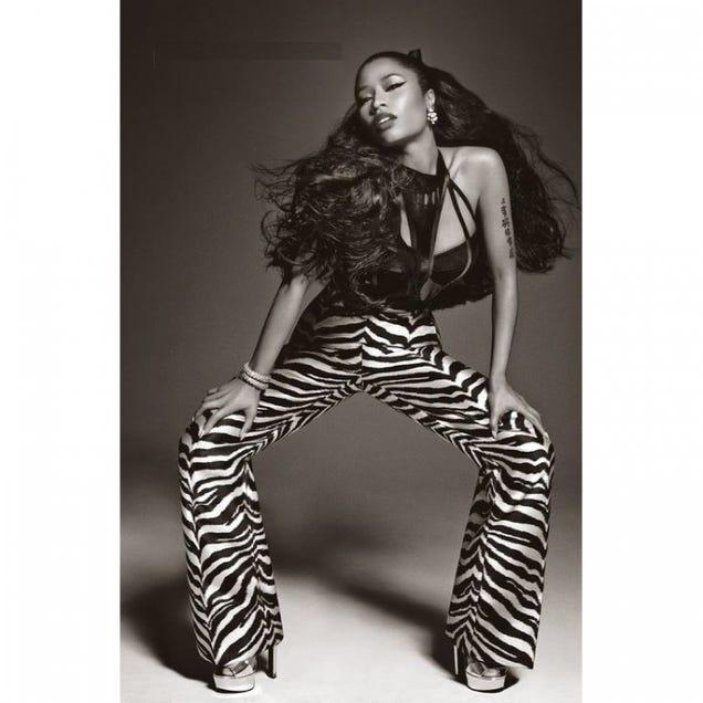 Nicki Minaj Gives Classic O-Face and Smize for Italian Vogue