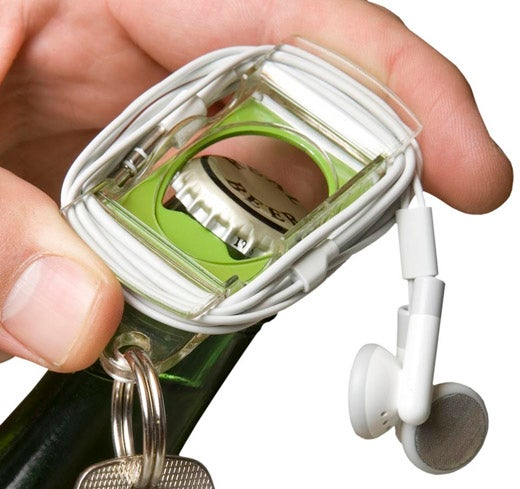 Mophie Bevy is an iPod Shuffle Case, Bottle Opener