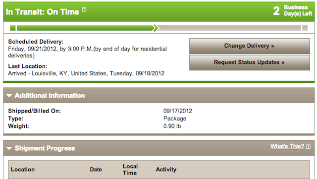 How to Track Your iPhone 5 Shipment Without a Tracking Number