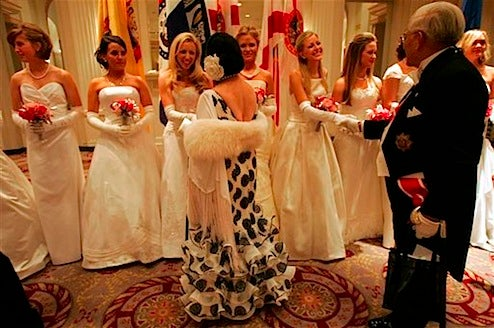 Debutantes Indulge As Nation Reels