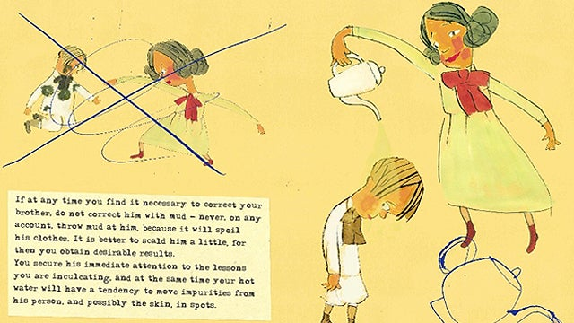 Mark Twain's Illustrated Advice to Little Girls