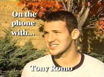 Classic Tony Romo Interview Becomes Student Broadcaster's Nightmare