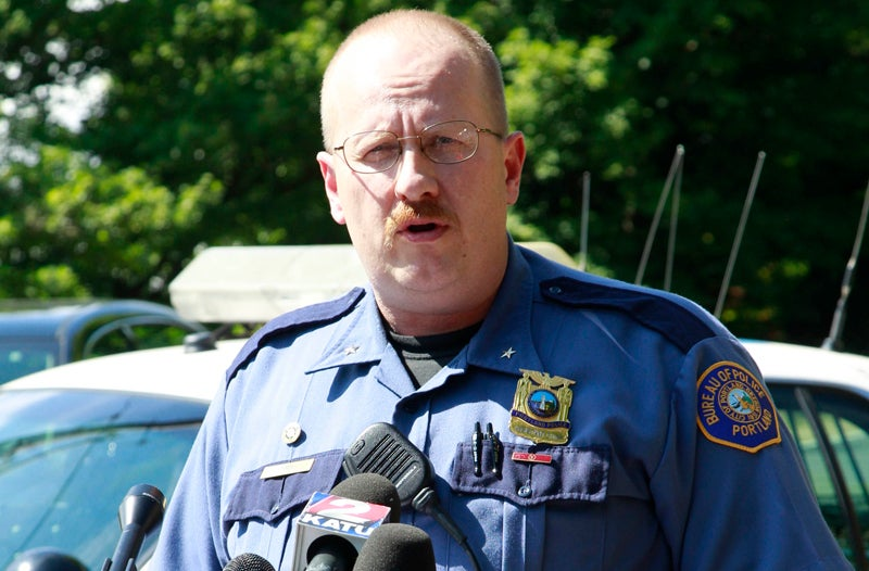 Portland Police Chief Placed on Leave After Forgetting to Mention He Accidentally Shot a Guy