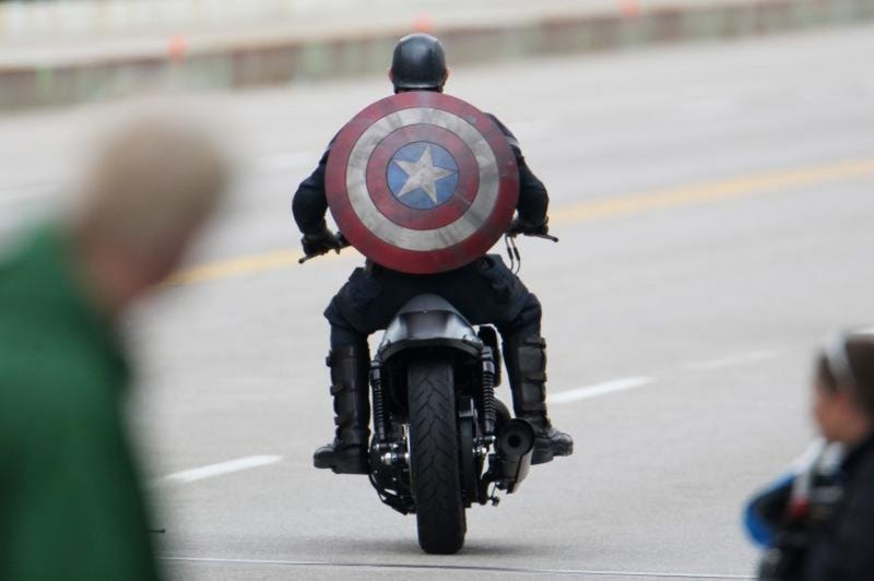 Winter Soldier set photos show off Captain America's new costume