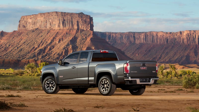 2015 GMC Canyon Specs And First Photos