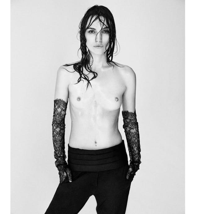 Nude keira knightley photoshop hot porno