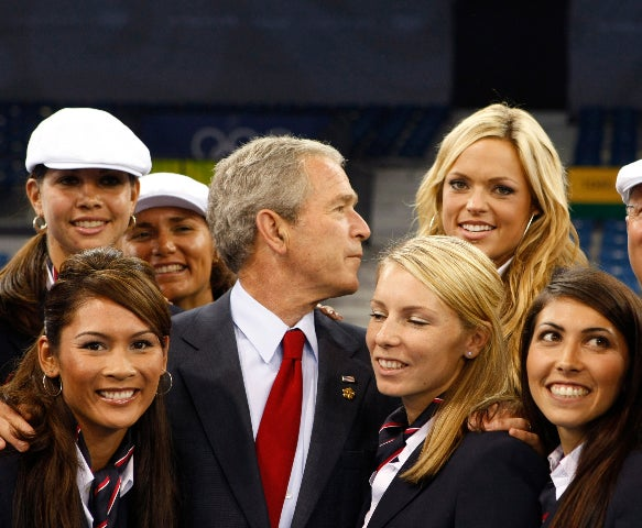 The Undeniable Attraction Between George W. And Jennie Finch Continues