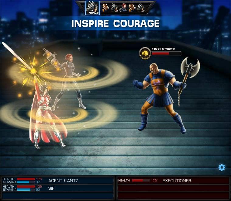 Avengers Alliance Gallery
